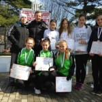 Marşăluitoarele albaiulience au obținut șase medalii la CN de marş de la Reşiţa