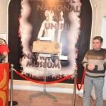 """""""Lupa Capitolină cu Romulus şi Remus"""" – Exponatul lunii martie, la Muzeul Unirii din Alba Iulia"""
