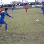 Performanţa Alba Iulia a pierdut astăzi cu scorul de 1-2 derby-ul cu CSO Cugir