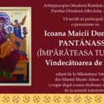 În zilele de 15 și 16 martie: Procesiune cu Icoana Maicii Domnului Pantánassa la Alba Iulia