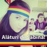 """Duminica 31 martie va avea loc la Alba Iulia un marş de susţinere pentru """"eroina tricolorului"""" – Sabina Elena"""
