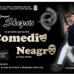 """În 14 martie la Casa de Cultură a Studenţilor din Alba Iulia, grupul Skepsis prezintă spectacolul """"Comedie Neagră"""""""