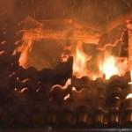 Incendiu produs azi-noapte la acoperișul unei case aflate in construcție din Alba Iulia