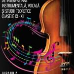 Între 3 și 6 aprilie se va desfășura la Alba Iulia faza națională a olimpiadei de muzică