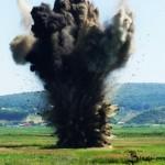 Miercuri, 30 octombrie, distrugere de muniție în poligonul de pe Dealul Mamut
