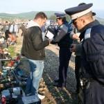 Amenzi de peste 15.000 de lei şi bunuri confiscate de aproape 7.000 lei în urma reziei efectuate ieri de poliție în Talciocul din Alba Iulia