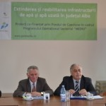 Lucrările de modernizare şi reabilitare a reţelelor de canalizare în Alba Iulia au fost finalizate