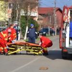 O fetiță de 10 ani a fost accidentată de un autoturism pe str. Lalelelor din Alba Iulia