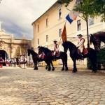 Serviciile artistice ale ceremonialului de gardă din Cetate vor fi scoase la licitație de către Primăria Alba Iulia