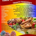 Produse tradiționale românești, meșteri populari, spectacol folcloric și de pricesne la Târgul de Florii