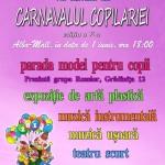 """Sâmbătă la Alba Mall va avea loc cea de-a V-a ediţie a """"Carnavalului Copilăriei"""""""