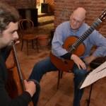 Kenneth Meyer a oferit cursuri de măiestrie de chitară clasică elevilor Liceului de Muzică şi Arte Plastice din Alba Iulia