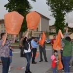 Ziua Mondială a persoanelor diagnosticate cu Scleroză Multiplă a fost marcată la Alba Iulia prin lansarea a zeci de lampioane