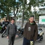Mai mulți motociclişti fac un tur al oraşului Alba Iulia într-o campanie care are ca scop de prevenirea accidentelor rutiere