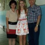 Șefa promoţiei 2013 de la Colegiul Naţional HCC este Cezara Busuioc care a terminat cu media 10