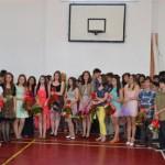 Festivitate de premiere pentru elevii de clasa a VIII-a la Şcoala Generală Vasile Goldiş din Alba Iulia