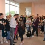 Galeriile de Artă din Alba Iulia au găzduit în aceasta seară o expoziţie de pictură şi concert de chitară clasică