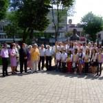 Depuneri de coroane la bustul poetului Mihai Eminescu pe Aleea Scriitorilor din Alba Iulia
