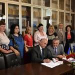 Astăzi la Alba Iulia a fost semnat protocolul de colaborare între Baroul din Alba şi Baroul din Chişinău