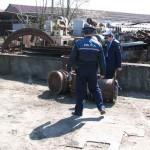 Doi bărbați din Alba Iulia sunt cercetaţi de polițiști pentru furt de fier vechi şi distrugere
