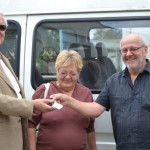 DGASPC Alba a primit donație un microbuz de 9 locuri de la o asociație de binefacere din Franța