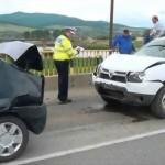 Trei mașini au fost avariate într-un carambol rutier petrecut pe strada Biruinței din Alba Iulia
