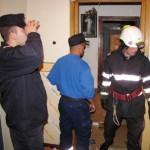 Pompierii militari au intervenit la Alba Iulia pentru salvarea unei femei bolnave blocată în casă