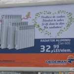 Amplasarea mijloacelor de publicitate stradală în atenția Primăriei Alba Iulia