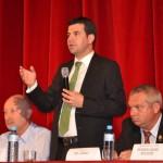Fermierii şi agricultorii din judeţul Alba s-au întâlnit cu Ministrul Agriculturii la Casa de Cultură a Studenţilor din Alba Iulia