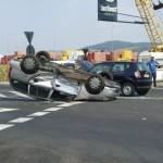 4 persoane transportate la spital în urma unui accident de circulație petrecut în zona magazinului Ambient din Alba Iulia