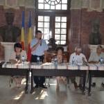"""În această dimineață la Sala Unirii din Alba Iulia a avut loc vernisajul expoziției """"Din înţelepciunea populară de acum un veac"""""""