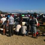 Razie a poliției în Talciocul din Alba Iulia în urma căreia au fost confiscate cafea, biciclete, aparatură electronică și telefoane mobile