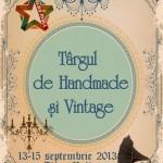 Între 13 și 15 septembrie la Alba Mall va avea loc Târgul de Handmade şi Vintage