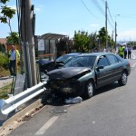 Accident rutier soldat cu pagube materiale provocat de un șofer beat din Alba Iulia pe DJ 107C, la Berghin
