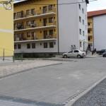 Au fost finalizate lucrările în zonele de acces la blocurile de locuințe sociale din Alba Iulia