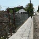 Lucrările de reabilitare a străzii Gării din Bărăbanț sunt aproape finalizate