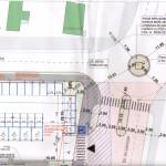 În zona viitorului centru comercial LIDL din Alba iulia se va amenaja un sens giratoriu