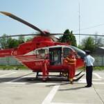 Recepția heliportului construit pentru Spitalul Judeţean Alba va avea loc săptămâna viitoare
