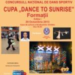 """Concursul Naţional de Dans Sportiv """"Dance to Sunrise"""" a atras peste 150 de concurenți la Alba Iulia"""