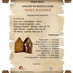 Miercuri, 9 octombrie, la Catedrala Romano-Catolică din Alba Iulia va avea loc un concert de muzică sacră