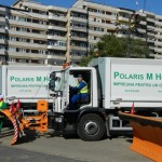 Polaris și-a prezentat flota de utilaje de salubrizare cu care de luni va începe curațenia în municipiul Alba Iulia