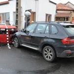 Două persoane rănite după o coliziune între două autoturisme petrecută în această dimineață la Alba Iulia