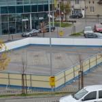 Astăzi se deschide patinoarul din parcarea Centrului comercial Alba Mall