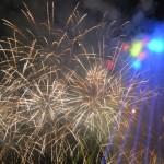 Artificii tricolore, Anda Adam şi Vama au încheiat aseară manifestările dedicate Zilei Naţionale a României la Alba Iulia