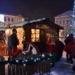 Parcul Sărbătorilor de Iarnă se va deschide vineri în Piața Cetății