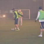 Terenul de fotbal al bazei sportive a lui Adrian Himcinschi a găzduit aseară un meci între foști componenți ai echipei Unirea Alba Iulia