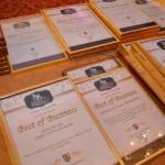 """CJ Alba i-a premiat pe cei mai valoroşi promotori ai economiei judeţului în cadrul Galei """"Best of Business"""" 2013"""