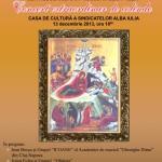 Vineri la Casa de Cultură a Sindicatelor din Alba Iulia va avea loc un Concert extraordinar de colinde