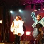 """200 de albaiulieni au înfruntat frigul de afară pentru a urmării concertul Elenei Gheorghe din cadrul Festivalului """"Wine Christmas"""""""