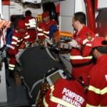 Un albaiulian și-a spart fața după ce a căzut în scara blocului